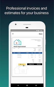 Invoice 2go — Professional Invoices and Estimates pc screenshot 1