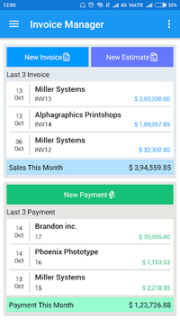Simple Invoice Manager pc screenshot 1