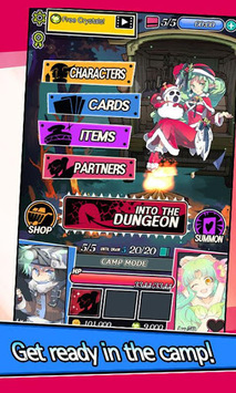 Dungeon&Girls: Card RPG pc screenshot 2