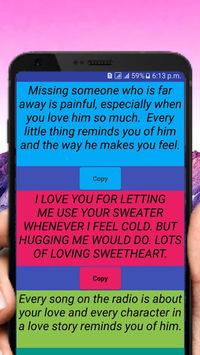 Heart Touching Love SmS pc screenshot 2