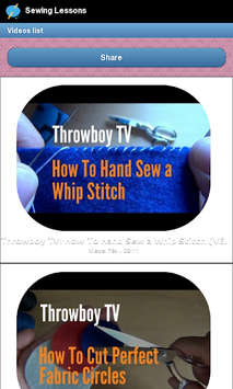 Sewing Lessons PC screenshot 3