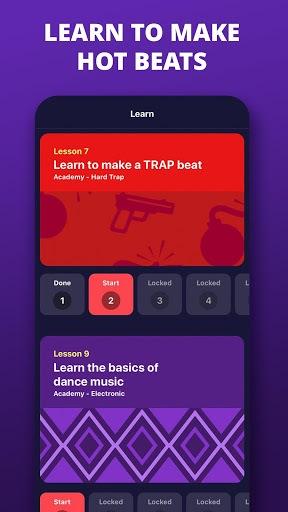 Jambl: Beat Maker & Dj Music Creator pc screenshot 1