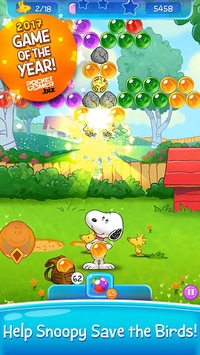 Snoopy Pop - Free Match, Blast & Pop Bubble Game pc screenshot 1