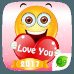 GO Keyboard Sticker Emoticon for pc logo