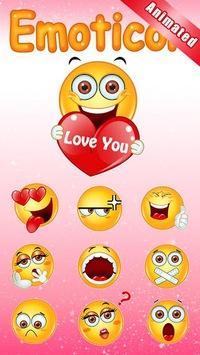 GO Keyboard Sticker Emoticon pc screenshot 1