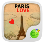 Paris Love GO Keyboard icon
