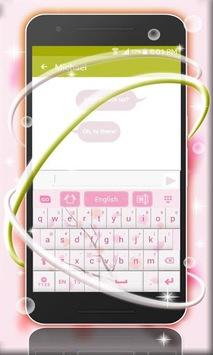 Pink Spring Flowers Keyboard pc screenshot 1