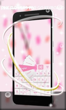 Pink Spring Flowers Keyboard pc screenshot 2