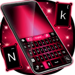 Keyboard Pink And Black icon