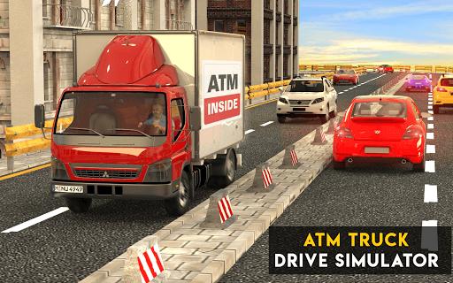 Atm Truck Drive Simulator: Bank Cash Transport Bus PC screenshot 1