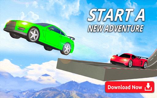Mega Ramp Car Stunts - Multiplayer Car Games 2021 PC screenshot 1