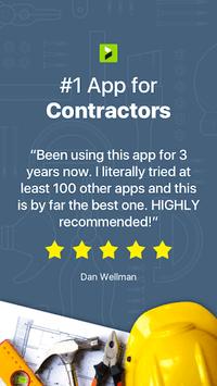 Contractor Estimate & Invoice pc screenshot 1