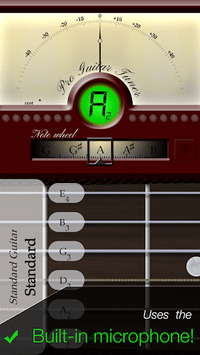 Pro Guitar Tuner pc screenshot 1