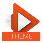 Material Orange Theme icon