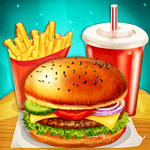 Happy Kids Meal Maker - Burger Cooking Game icon