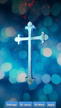 Holy Cross 3D Live Wallpaper pc screenshot 1