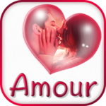 Love Messages in French – Text Editor & Stickers icon