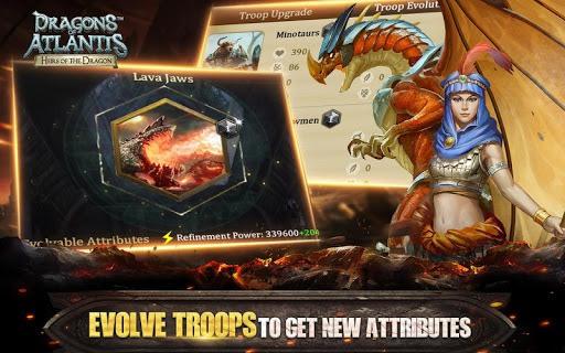 Dragons of Atlantis PC screenshot 1