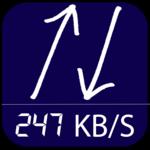 Internet Speed Meter -SpeedPro for pc logo