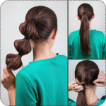 ‍nice hairstyle step by step icon