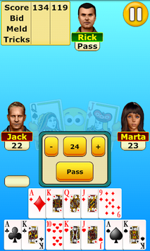 Pinochle pc screenshot 1