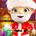 Baby Santa Claus Xmas Voice for pc logo