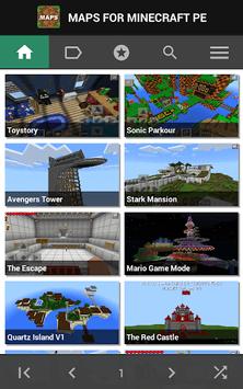 Maps for Minecraft PE pc screenshot 1