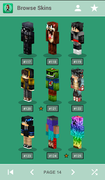 Skins for Minecraft PE pc screenshot 1