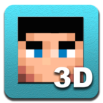 Skin Editor 3D for Minecraft for pc logo
