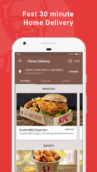 KFC Magyarország pc screenshot 2