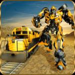Futuristic Train Real Robot Transformation Game icon
