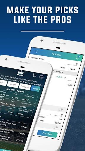 Kingpin: Sports Betting,Gambling, Sportsbook Picks PC screenshot 2