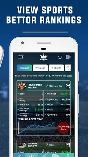 Kingpin: Sports Betting,Gambling, Sportsbook Picks PC screenshot 3