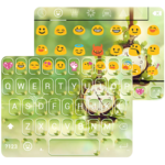 Flying Time Emoji Keyboard icon