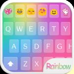 Rainbow Love - Emoji Keyboard with Call Screening icon