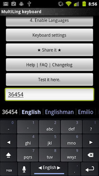 MultiLing Keyboard pc screenshot 1