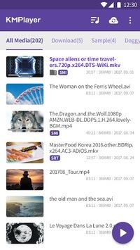 Video Player HD All formats & codecs - km player pc screenshot 1