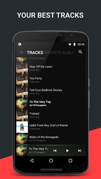 BlackPlayer Music Player pc screenshot 1