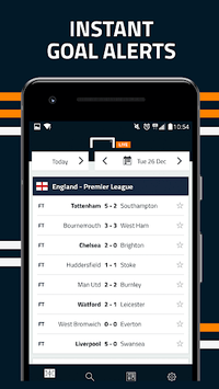 Goal Live Scores pc screenshot 1