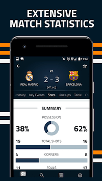 Goal Live Scores pc screenshot 2