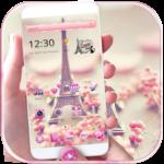 Paris Tower Theme Pink Love icon