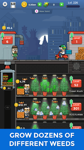 Weed Factory Idle pc screenshot 1