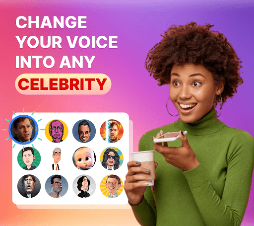 Celebrity voice changer plus: funny voice effects PC screenshot 1
