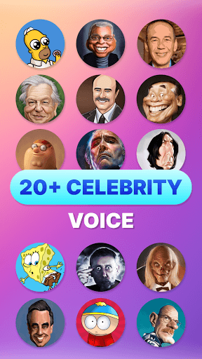 Celebrity voice changer plus: funny voice effects PC screenshot 2