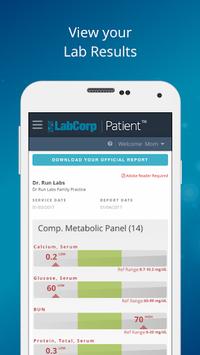 LabCorp | Patient pc screenshot 1
