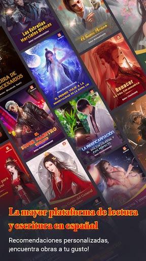 Bookista - La mayor app de novelas web en español PC screenshot 1