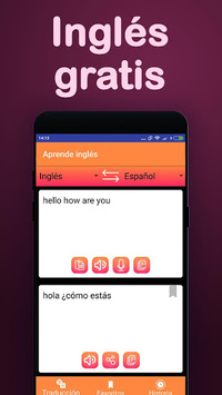 Translator : Spanish English & Learn English free PC screenshot 1