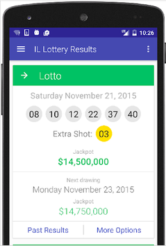Results for Illinois Lottery pc screenshot 1