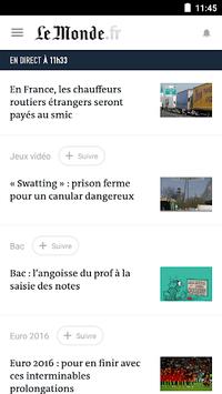 Le Monde, l'info en continu pc screenshot 1