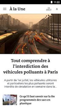 Le Monde, l'info en continu pc screenshot 2
